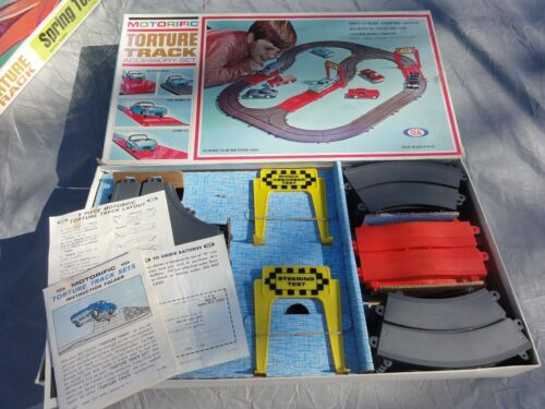 Ideal Motorific Set Torture Track with Instructions, Box,