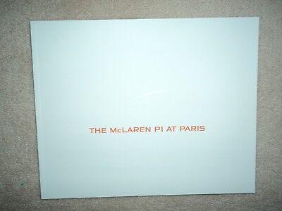 McLaren P1 - Brochure  - 2012  - Mint