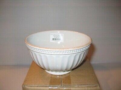 NEW LENOX French Perle Groove Dinnerware WHITE - ALL PURPOSE BOWL ONLY Dinnerware All Purpose Bowl