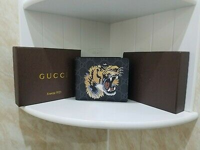 Black Gucci Tiger Wallet (Read Description)