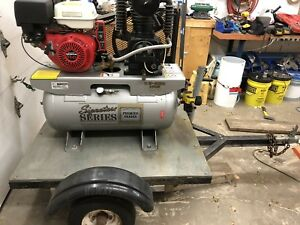 Gas power air compressor