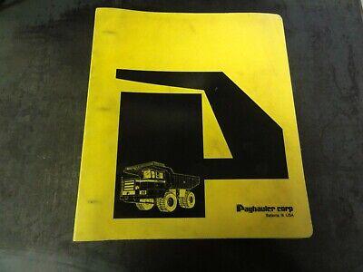 Terex Mining Payhauler 350bc Truck Operators Manual  70qa350c3p