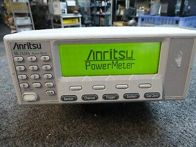 Anritsu Ml2438a 2 Channel Rf Power Meter Rs232 Gpib W Options