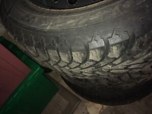 15 Inch Goodyear Nordic Winter Tires