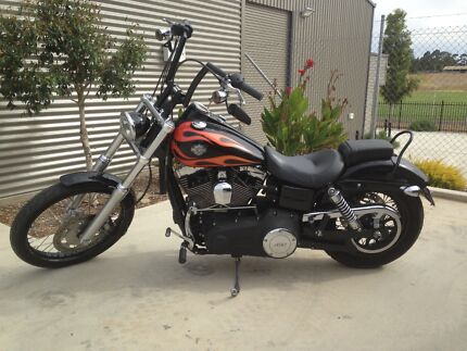 Harley davidson wideglide motorcycles gumtree australia dyna wide glide 103 2013 fandeluxe Image collections