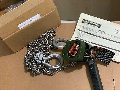 Harrington 1/2 ton LX Mini Lever Hoist 5 Foot Lift LX005 (1/2 Ton Lever Hoist)