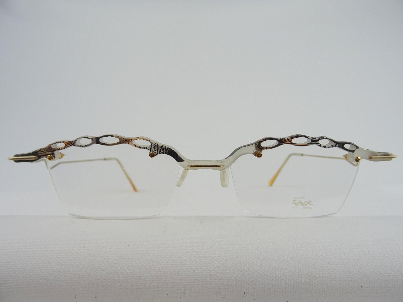 Brillengestell SKANDAL 01-011 ausgefallenes Design für Damen STYLISH Gr. M 48-19