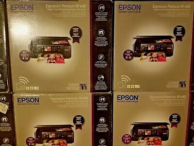 Epson XP-640 Expression Premium Wireless All In One Printer Black FREE SHIPPING