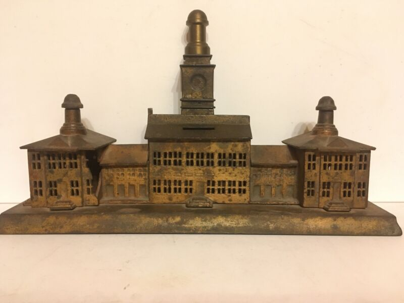 Cast Iron Independence Hall 3 In 1 Small c. 1876  Rated E