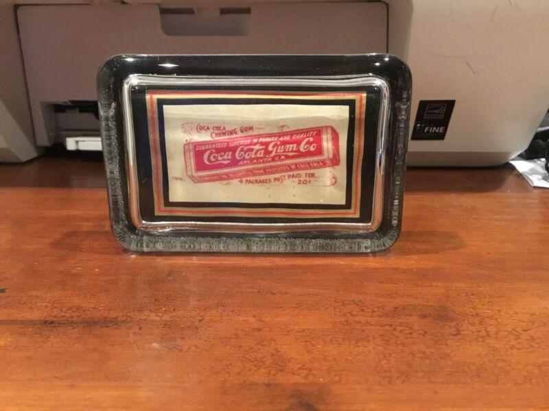 Coca Cola Gum Paperweight