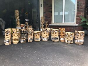 Chainsaw Tiki carving sale