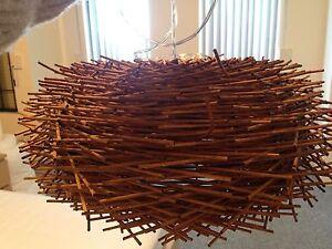 Birds Nest Light Fitting Port Kennedy Rockingham Area Preview