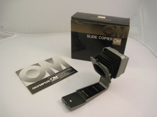 Boxed mint! Olympus OM-System Slide Copier with Manual Made in Japan