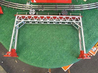 LIONEL PRE WAR 440 SIGNAL BRIDGE VG+ COND STANDARD GAUGE 1932-1935
