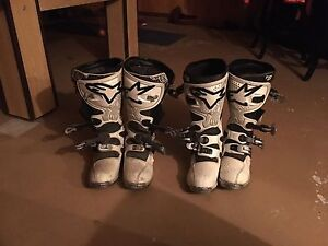 Only one season!!  Alpinestars tech 8 motocross boots