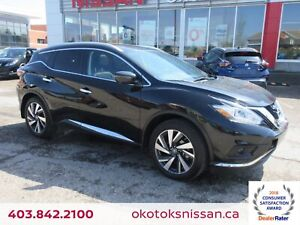 2018 Nissan Murano Platinum AWD, HEATED/COOLED LEATHER