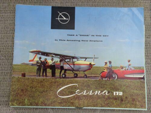 Vintage 1956 Cessna Skyhawk 172 Dealer