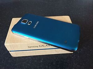 Samsung Galaxy S5 Smartphone - Blue - With box and charger - 16GB Mount Gambier Grant Area Preview