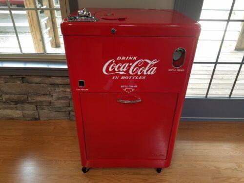 Coke Coca-Cola Machine Vendo 23 Fully Working Older Restoration