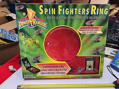 Power Rangers Vuelta Fighters Ring GIG New