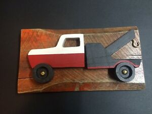 Reclaimed wood cars and truck