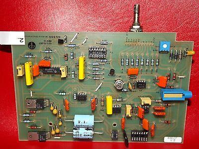 Gilson Hplc Detector Interface Board Range Attenuation Board 60113287