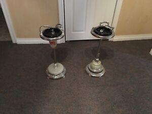 Vintage Standing Ashtrays