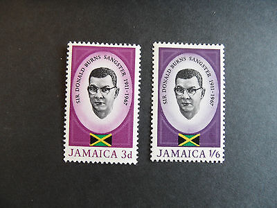 JAMAICA 1967 SG 262-263 SANGSTER  MNH