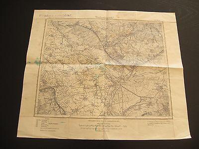 alte Karte Landkarte Pommern Nr 271 Cüstrin Neudamm von 1891