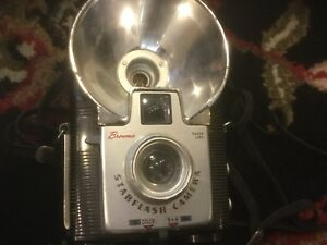 Vintage film brownie camera collection