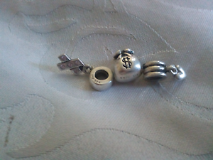 Pandora charms plus 5 silver glass charms Oxley Vale Tamworth City Preview