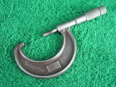 Vintage The Lufkin Rule Co. No.1912 Micrometer 1- 2 Micrometer Made In Usa