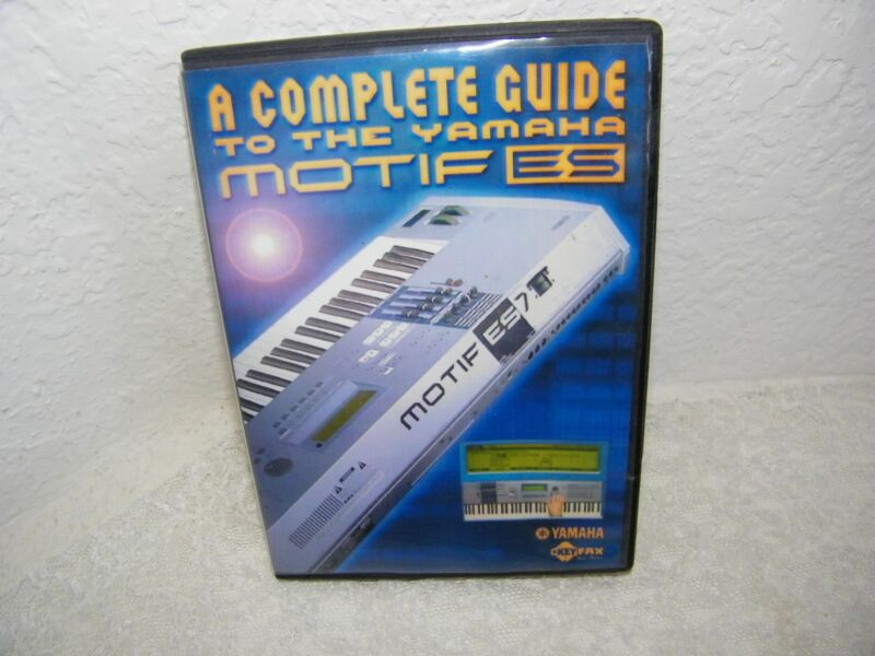 A Complete Guide To The Yamaha Motif ES DVD