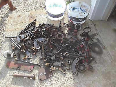 Farmall Sm 300 Utility Ihc Tractor Ih Box Misc Bolts Nuts Parts Pieces Springs