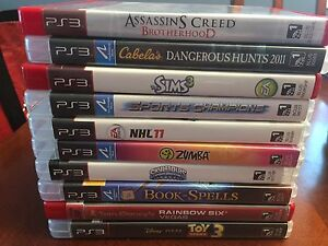 Games for PS3, Xbox 360 and PS4