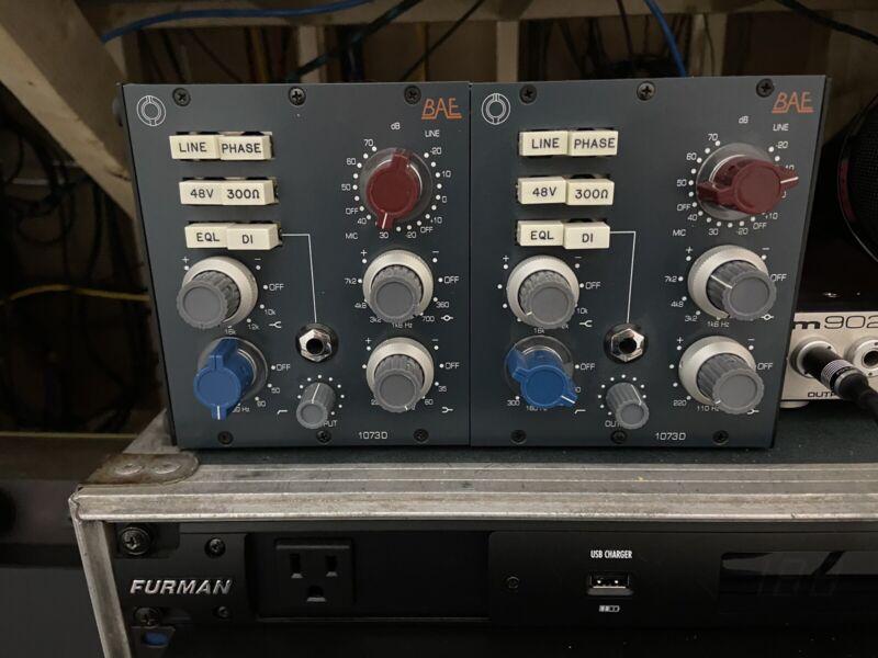 BAE 1073D Preamp w/eq Neve 500 Series Module