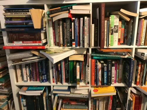 Selling a portion of my library: 50+ Books