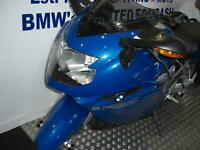 BMW K 1200-S FITTED PANNIERS, LASER EXHAUST.CLEAN EXAMPLE THROUGHOUT