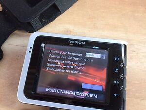 Medion in car GPS navigation system in working condition Narre Warren South Casey Area Preview