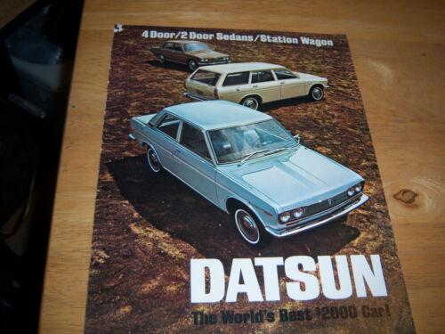 1969 Datsun  Promo Brochure