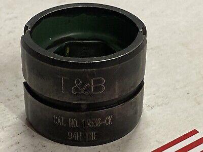 Thomas Betts 15536-ck 600kcmil Cu 400 Al Crimper Die Hydraulic U Type 12 Ton