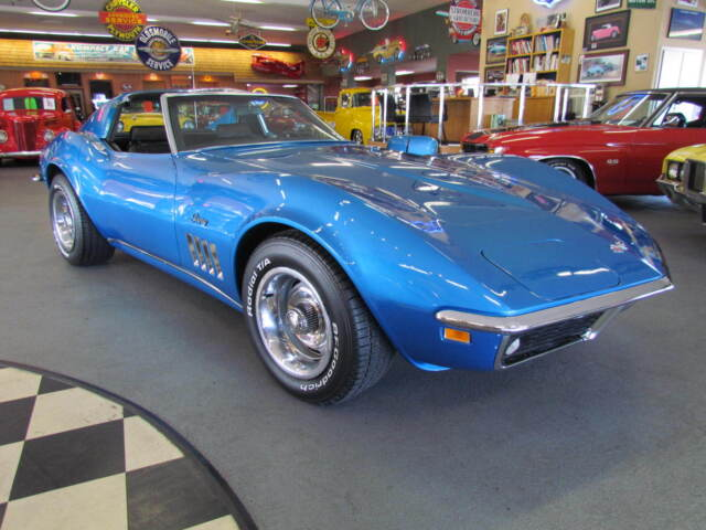 Chevrolet : Corvette T-Tops 1969 Corvette Matching Numbers 350/350HP 4 Speed