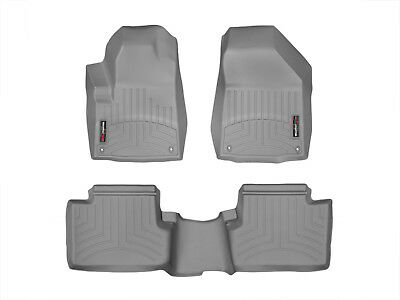 WeatherTech FloorLiner Mat for Jeep Cherokee - 2014-2015 - 1st/2nd Row - Grey