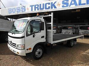 2011 616 Hino Flat Tray Rocklea Brisbane South West Preview