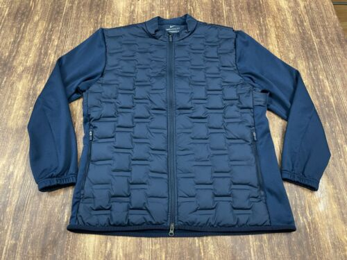 Nike AeroLoft Repel Men's Blue Golf Jacket - Large - CK5900-451