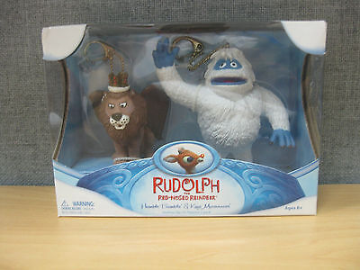 Rudolph the Red Nosed Reindeer Humble Bumble & King Moonracer Holiday Figurine