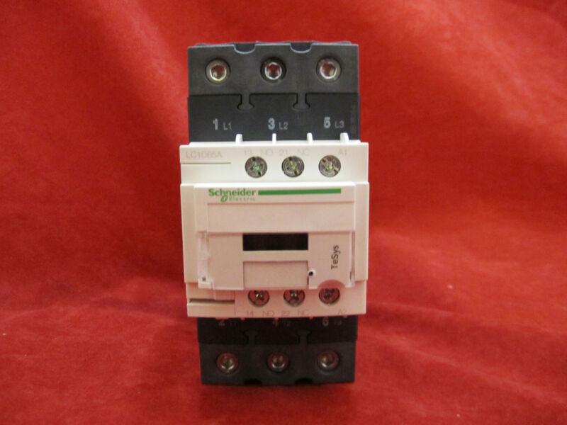 Schneider/Telemecanique LC1D65AB7 Magnetic Contactor AC24V