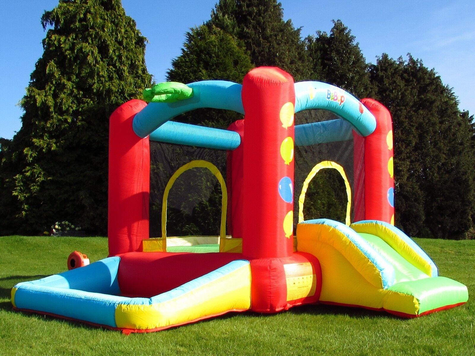 Castello Gonfiabile BeBop Balloon con Vasca Palline per Bambini