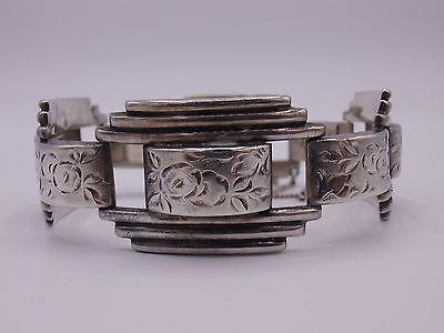 wunderschönes Art Deco Armband Silber 900 punziert um 1930