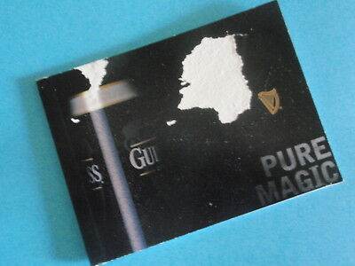 Collectable - NEW: Guinness 'Pure Magic' Booklet